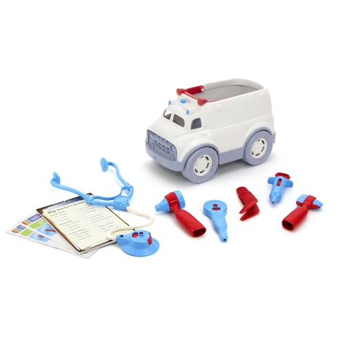 Green Toys: Ambulance & Doctor Kit